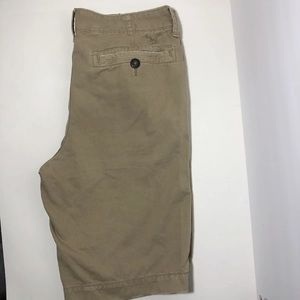 Men's American Eagle long length khaki shorts 34